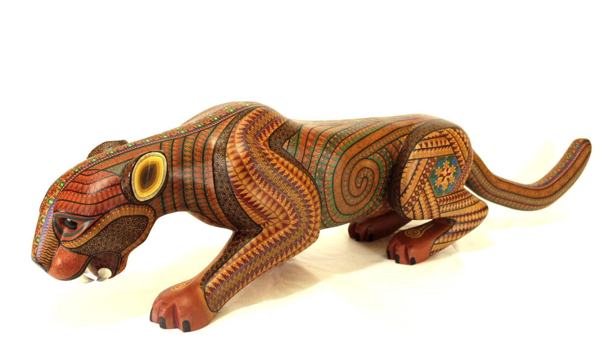 Alebrije jaguar.
