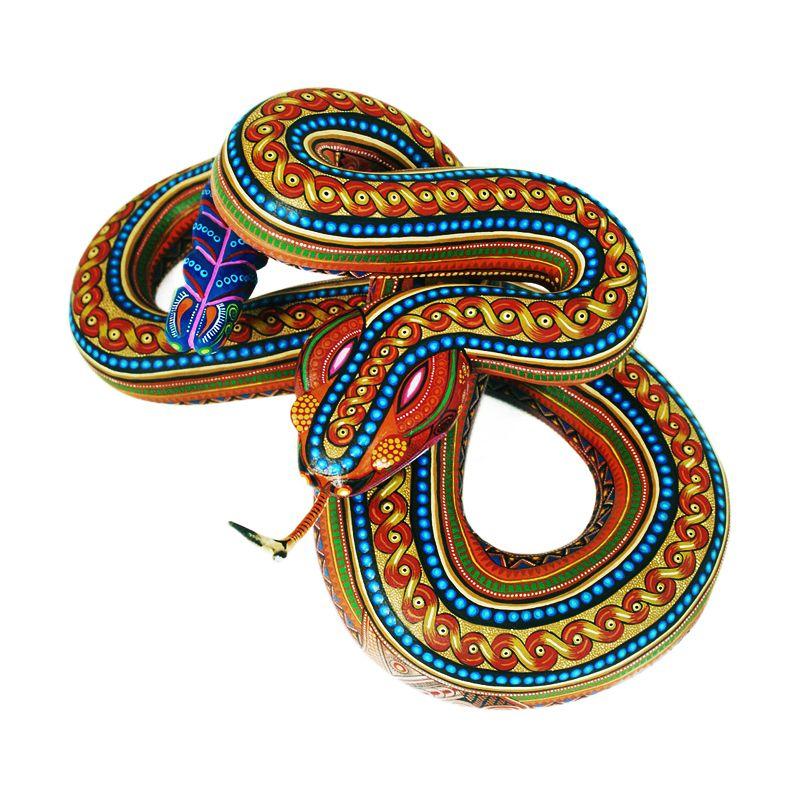 Alebrije de serpiente.